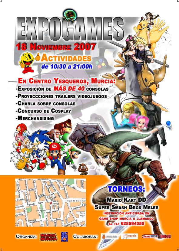 Cartel Expogames 2007