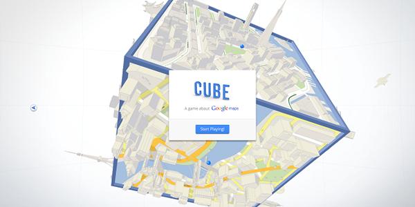 """Cube, el """"juego"""" de Google Maps"""