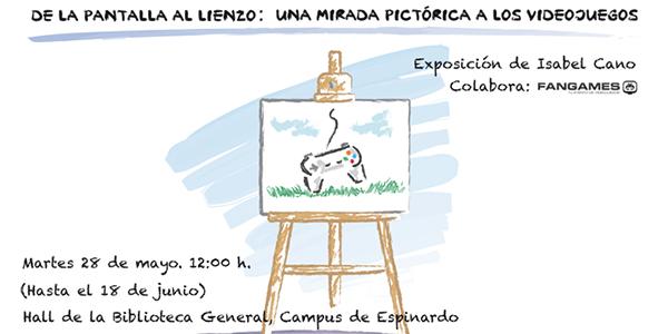 Exposición: De La Pantalla Al Lienzo
