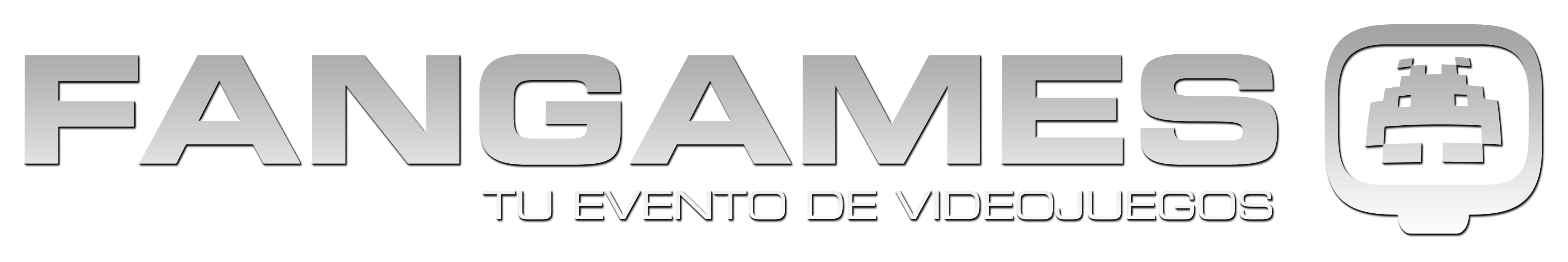 Logo de Fangames para fondos blancos